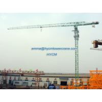 China Topless QTP6016 10 ton 60m Work Lifting Jib Specifications Tower Crane wholesale