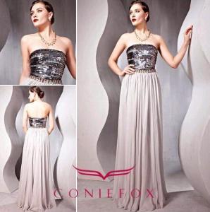 China hot sequined ball dresses,  handmade wrap full skirt ball dresses wholesale