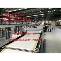 China corrugated cardboard production line double backer long canvas belt wholesale