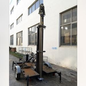 21m Lockable Pneumatic Telescopic Mast 50kg payload-NR-3200-21000-50L antenna telescopic mast aluminum telescoipc mast