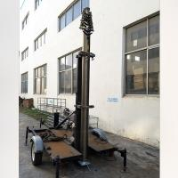 Quality 21m Lockable Pneumatic Telescopic Mast 50kg payload-NR-3200-21000-50L antenna telescopic mast aluminum telescoipc mast for sale