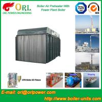 China Carbon Steel Boiler Air Preheater / Airpreheater Boiler Spare Part Fire Prevention wholesale