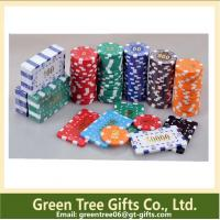 China 300pcs per set 11.5g PS Poker Chip/ dice poker chip for gambling house wholesale
