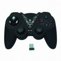 China 2.4GHz Wireless Computer Game Controller with Ergonomic Design wholesale