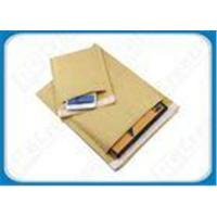 China Gold / White / Natural Eco-friendly Kraft Bubble Envelopes Padded Mailing Bags For Express on sale