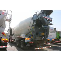 China 12 CBM Concrete Mixer Lorry Euro II Emission 12 Wheels With HW76 Or HW79 Cab wholesale