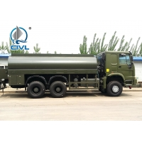 China Sinotruk Howo ZZ1267M464GE 6x6 20000 Liters 4275+1400mm Wheelbase Liquid Or Fuel Tanker Truck on sale