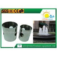 China Cup Shape Gushing Water Fountain Nozzles Aeration With Milk White Bubbles on sale