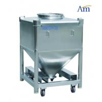 China Durable Pharmaceutical Accessories Square Shape Steel IBC Tank Large Volume wholesale