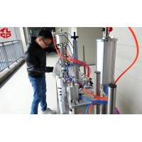 China Semi Automatic 3 in 1 Aerosol Filling Machine for Insecticide Pesticide Sprays Pneumatic Drive wholesale