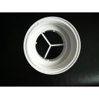 Buy cheap White Color Plastic Connector Plastic Injection Moulded Components High from wholesalers