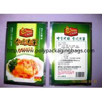 China Compound Aluminium Foil Bag Stand Up Pouches For Pickles / Instant Food wholesale