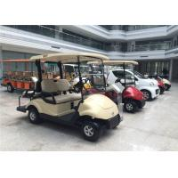 Club Car 4 Seater Golf Carts Dongfeng , Street Legal Electric Cars 3KW Motor