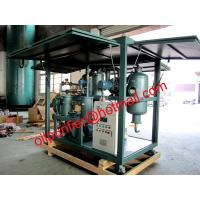 Buy cheap Cover Transformer oil regeneration machine,used oil purification system from wholesalers