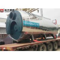 China 400 Hp Fire Tube Steam Boiler , Heavy Oil Fired Boiler For Food Factory wholesale