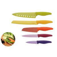 China Lightweight Stainless Steel Knife Set Rustless With Sharp Knife Edge wholesale