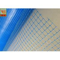 China Bule Plastic Construction Netting Plaster Mesh Anti - Cracking 60g/Sqm wholesale