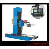 Buy cheap Carbon Steel Vertical End Face Milling Machine with Siemens Electric / Mechanical Feeding from wholesalers