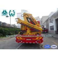 China Four Door Cabin  Fire Fighting Truck with crane15 Cbm  - 20 Cbm 336 Hp on sale