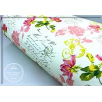 China Pretty Rose Scented Drawer Liners Sheet With Custom Printed wholesale