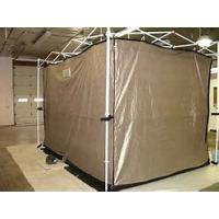 Buy cheap nickel copper RF shielding fabric for military tent signal-stop tent RFID blocking tent from wholesalers
