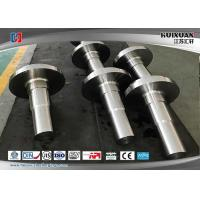 China Rough Machined Forged Steel Flanges Open Die Forging Rustproof on sale