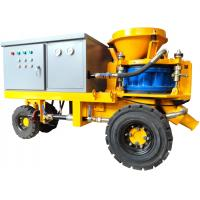China Electric Drive Concrete Shotcrete Machine with Tyre Shassis SPZ3000 Fibre Spraying wholesale