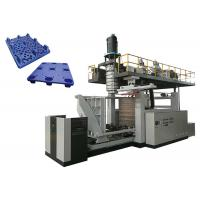 China Nine Feet Double Station Blow Moulding MachineFor Plastic Pallets 1 Year Warranty wholesale