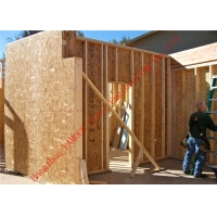 China 25mm-200mm Structural Insulated Panel , SIP Structural Insulated Wall Panels wholesale
