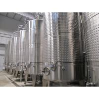 China Tanks in Unit for Milk/Beverage (juice) Processing wholesale