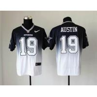 China NFL Dallas Cowboys 19 Austin Drift Fashion II blue white jersey wholesale