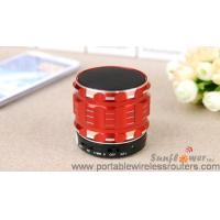 China 3.7V 400 mah Hands Free Bluetooth Speaker Transmission range of up to 12m wholesale