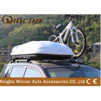 China 450L Capacity Car Roof Boxes / Auto Roof Travel Box Waterproof wholesale