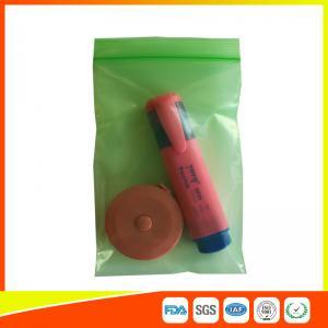 China Plastic PE Packing Ziplock Bags Antistatic , Air Tight Zip Lock Bags Custom Printed wholesale