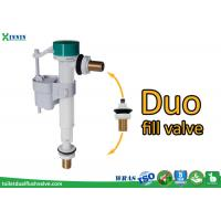 China POM ABS Side Entry / Bottom Entry Duo Toilet Fill Valve For Diy Market wholesale