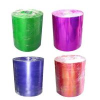 Quality PET Materials Christmas Gift Ribbon 1m And 50cm Width Polypropylene Ribbon for sale