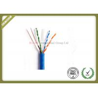 China Indoor 23AWG UTP CAT6 Network Lan Cable with  Bare Copper  PVC/LSZH Jacket wholesale