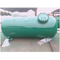 Quality Carbon Fiber Bullet Butane Compressed Air Storage Tank Horizontal Pressure for sale