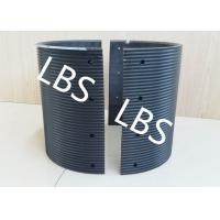 China Black Polymer Material Bolted Connection Winch Drum Sleeves wholesale
