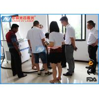China 200 Watt Handheld Laser Rust Removal Machine For Plastic Mould Residues Cleaning wholesale