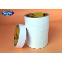 China Synthetic Rubber Adhesive Double Sided Tissue Tape Hot Melt Glue Fiberglass on sale