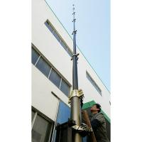 China 2~30m lockable pneumatic telescopic mast/ light duty payloads telescopic mast/ antenna telescopic mast/ telescoping mast on sale