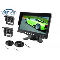 China 7 inch TFT Car Monitor with AV BNC 4 PIN input for Mobile DVR system or Reversing wholesale