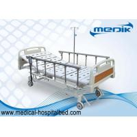 Quality Mobile Handicapped Electric Hospital Bed With Remote Handset Control for sale