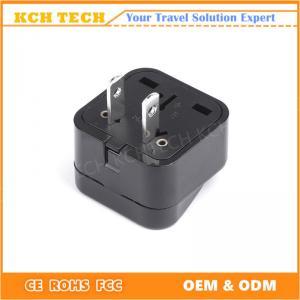 China Fire retardant PC Plug In Male US  Plug on sale