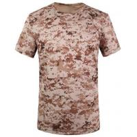 China Camouflage desert t-shirts army T-shirt military T-shirt Round Collar/POLO wholesale