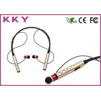 China Bluetooth 4.2 Behind The Neck Headphones With 120mAh Rechargeable Lithium Polymer Cell wholesale