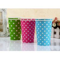 China Custom Printing Takeaway Paper Cups With Lids For Kids Cold Beverage Cup wholesale