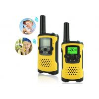 China 3-5KM Range Rechargeable Walkie Talkies With 99 CTCSS Code And 8-22 Channels wholesale