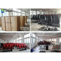 China Customized Color Pneumatic 4D Cinema Equipment Seats Left Right wholesale